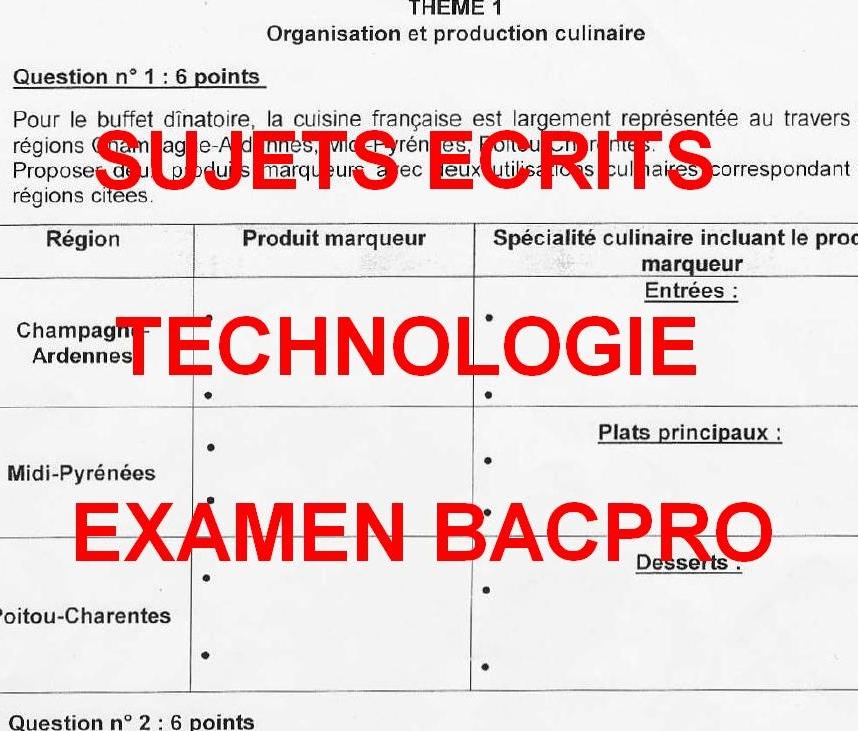 Fiche Bilan De Compétences Bac Pro Cuisine Images Exemple - Fiche bilan de competences bac pro cuisine
